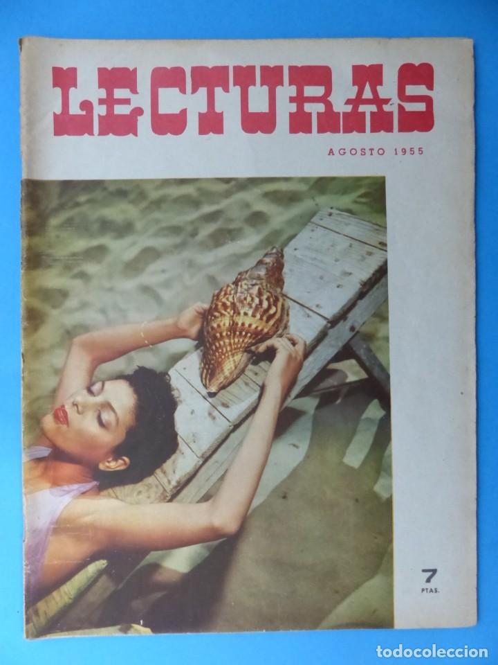Coleccionismo de Revistas: LECTURAS, 7 ANTIGUAS REVISTAS, AÑOS 1950 - VER FOTOS ADICIONALES - Foto 7 - 186425990