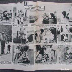 Coleccionismo de Revistas: RECORTE REVISTA LECTURAS Nº 650 1964 BING CROSBY. Lote 188565553