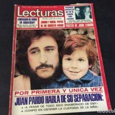 Coleccionismo de Revistas: LECTURAS 1974 ESTEFANIA DE MONACO JUAN PARDO ANA BELEN YOLANDA RIOS FERNANDO SANCHO BEATLES ROSA LEO. Lote 189311105