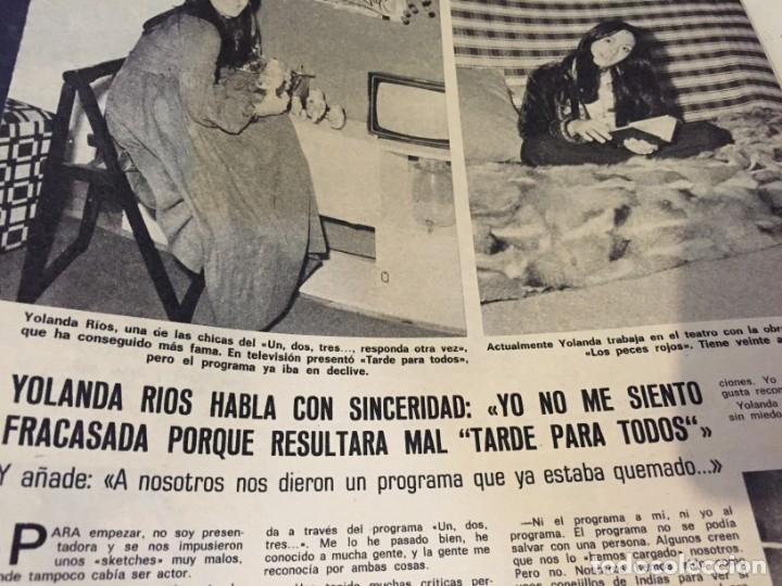 Coleccionismo de Revistas: LECTURAS 1974 ESTEFANIA DE MONACO JUAN PARDO ANA BELEN YOLANDA RIOS FERNANDO SANCHO BEATLES ROSA LEO - Foto 4 - 189311105