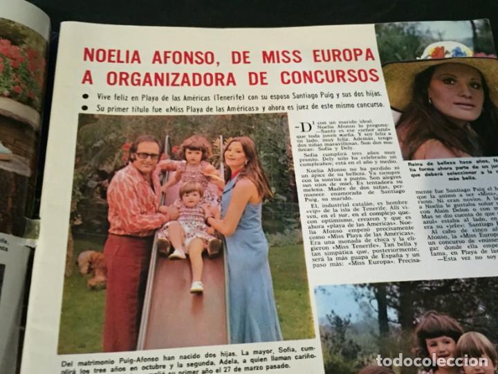 Coleccionismo de Revistas: LECTURAS 1975 MANOLO OTERO PERALES JULIO IGLESIAS NUBES GRISES CHER PILAR VELAZQUEZ AUDREY HEPBURN - Foto 2 - 218790191