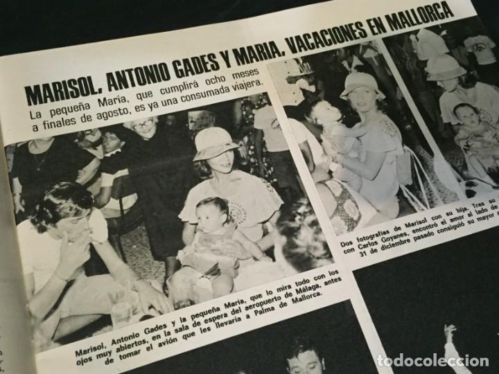 Coleccionismo de Revistas: LECTURAS 1975 MANOLO OTERO PERALES JULIO IGLESIAS NUBES GRISES CHER PILAR VELAZQUEZ AUDREY HEPBURN - Foto 4 - 218790191