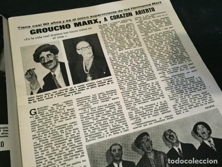 Coleccionismo de Revistas: LECTURAS 1975 MANOLO OTERO PERALES JULIO IGLESIAS NUBES GRISES CHER PILAR VELAZQUEZ AUDREY HEPBURN - Foto 6 - 218790191