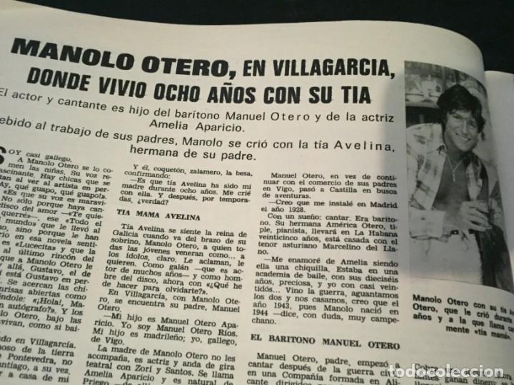 Coleccionismo de Revistas: LECTURAS 1975 MANOLO OTERO PERALES JULIO IGLESIAS NUBES GRISES CHER PILAR VELAZQUEZ AUDREY HEPBURN - Foto 7 - 218790191