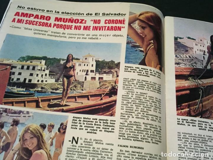 Coleccionismo de Revistas: LECTURAS 1975 MANOLO OTERO PERALES JULIO IGLESIAS NUBES GRISES CHER PILAR VELAZQUEZ AUDREY HEPBURN - Foto 8 - 218790191