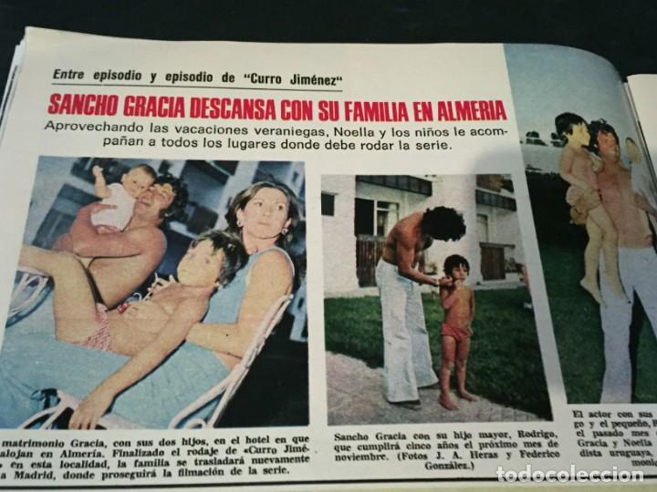 Coleccionismo de Revistas: LECTURAS 1975 MANOLO OTERO PERALES JULIO IGLESIAS NUBES GRISES CHER PILAR VELAZQUEZ AUDREY HEPBURN - Foto 9 - 218790191