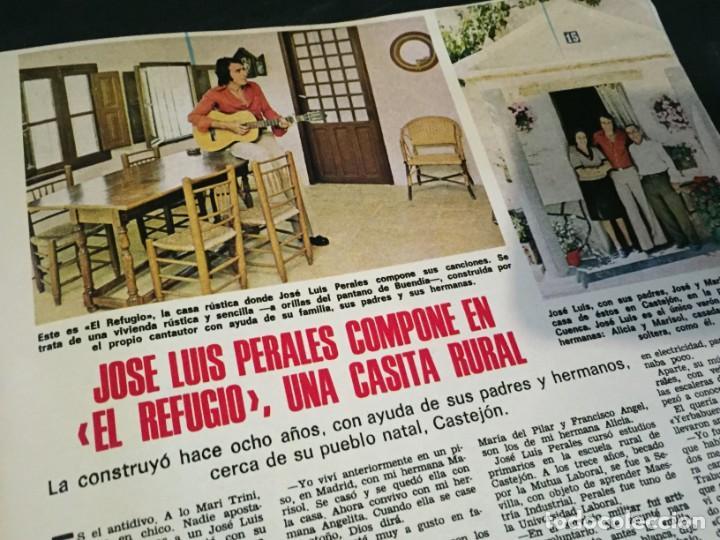 Coleccionismo de Revistas: LECTURAS 1975 MANOLO OTERO PERALES JULIO IGLESIAS NUBES GRISES CHER PILAR VELAZQUEZ AUDREY HEPBURN - Foto 11 - 218790191