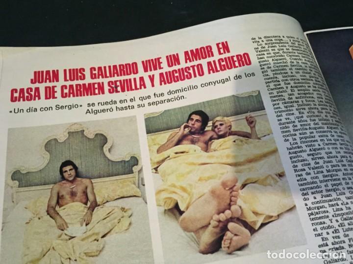 Coleccionismo de Revistas: LECTURAS 1975 MANOLO OTERO PERALES JULIO IGLESIAS NUBES GRISES CHER PILAR VELAZQUEZ AUDREY HEPBURN - Foto 13 - 218790191