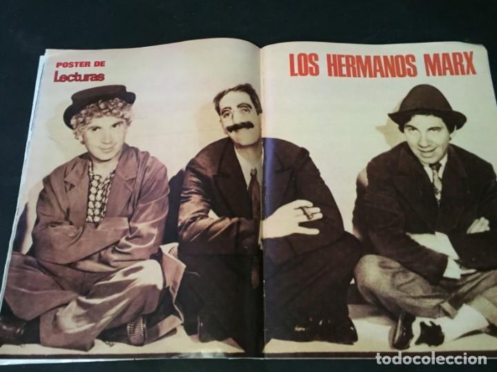 Coleccionismo de Revistas: LECTURAS 1975 MANOLO OTERO PERALES JULIO IGLESIAS NUBES GRISES CHER PILAR VELAZQUEZ AUDREY HEPBURN - Foto 14 - 218790191