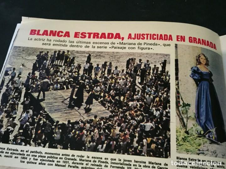 Coleccionismo de Revistas: LECTURAS 1975 MANOLO OTERO PERALES JULIO IGLESIAS NUBES GRISES CHER PILAR VELAZQUEZ AUDREY HEPBURN - Foto 16 - 218790191