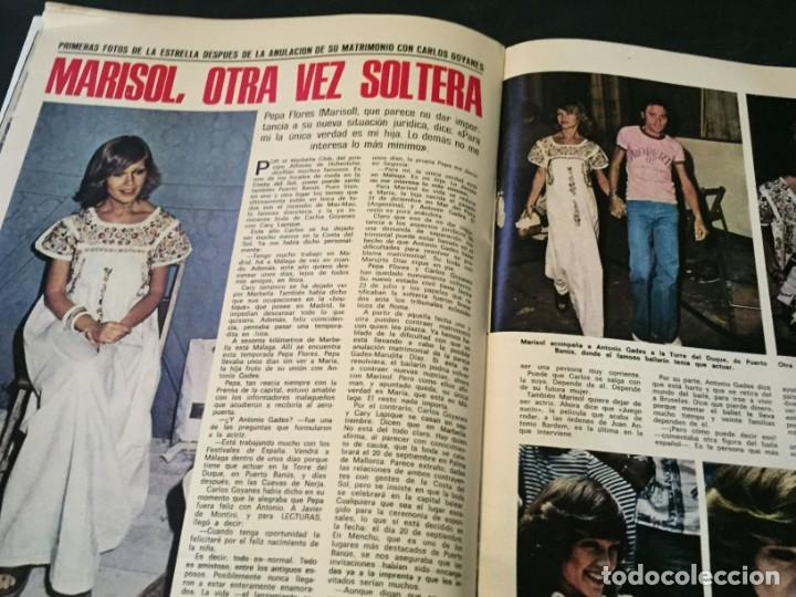 Coleccionismo de Revistas: LECTURAS 1975 MANOLO OTERO PERALES JULIO IGLESIAS NUBES GRISES CHER PILAR VELAZQUEZ AUDREY HEPBURN - Foto 17 - 218790191
