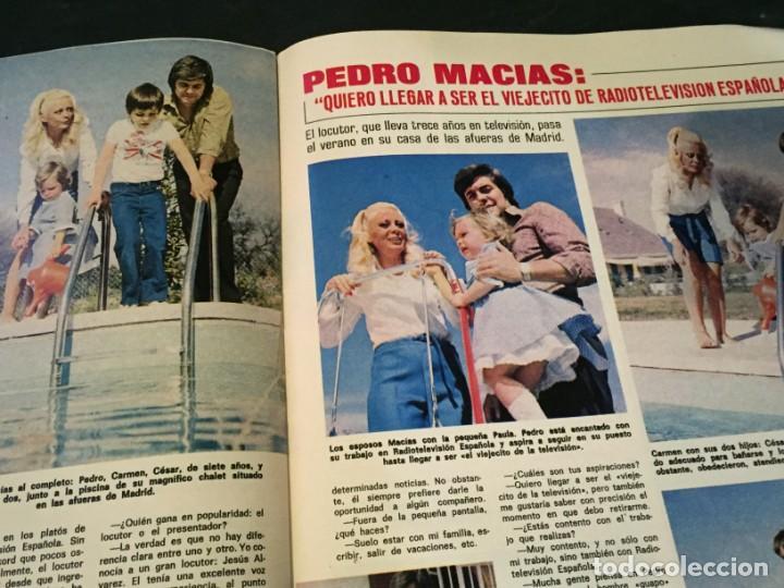 Coleccionismo de Revistas: LECTURAS 1975 MANOLO OTERO PERALES JULIO IGLESIAS NUBES GRISES CHER PILAR VELAZQUEZ AUDREY HEPBURN - Foto 20 - 218790191