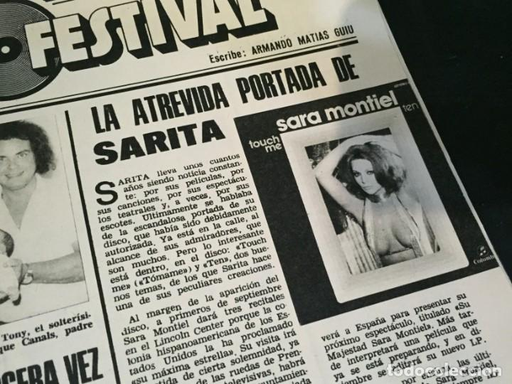 Coleccionismo de Revistas: LECTURAS 1975 MANOLO OTERO PERALES JULIO IGLESIAS NUBES GRISES CHER PILAR VELAZQUEZ AUDREY HEPBURN - Foto 21 - 218790191
