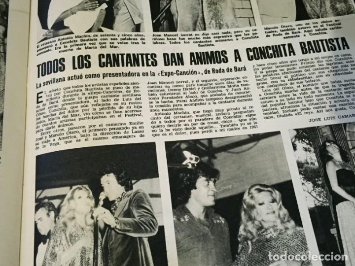 Coleccionismo de Revistas: LECTURAS 1975 MANOLO OTERO PERALES JULIO IGLESIAS NUBES GRISES CHER PILAR VELAZQUEZ AUDREY HEPBURN - Foto 24 - 218790191