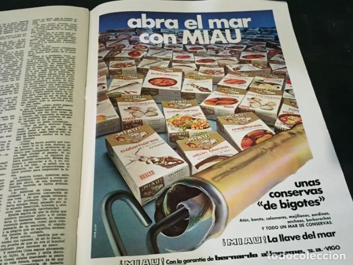 Coleccionismo de Revistas: LECTURAS 1975 MANOLO OTERO PERALES JULIO IGLESIAS NUBES GRISES CHER PILAR VELAZQUEZ AUDREY HEPBURN - Foto 25 - 218790191
