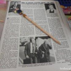 Coleccionismo de Revistas: RECORTE REVISTA LECTURAS Nº1493 / AÑO 1980 / TONY ISBERT. Lote 191718348