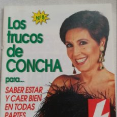 Coleccionismo de Revistas: REVISTA: LOS TRUCOS DE CONCHA VELASCO NÚMERO 8 AÑO 1993. Lote 191743875