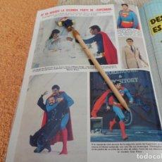 Collectionnisme de Magazines: RECORTE REVISTA LECTURAS Nº1494 / 1980 / SUPERMAN / VER CONDICIONES DE VENTA. Lote 192378457
