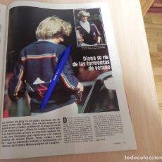 Coleccionismo de Revistas: RECORTE REVISTA LECTURAS Nº1636 / 1983 / LADY DI DIANA / VER CONDICIONES DE VENTA. Lote 205408042