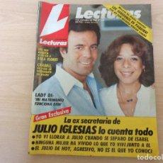 Coleccionismo de Revistas: DE KIOSKO. LECTURAS Nº 1856. DICIEMBRE 1987. LA EXSECRETARIA DE JULIO IGLESIAS LO CUENTA TODO.. Lote 193637736
