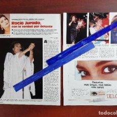 Coleccionismo de Revistas: ROCIO JURADO -ENTREVISTA CON LA VERDAD POR DELANTE -3 PAG.LECTURAS AÑO 1988 -RECORTE. Lote 240279170