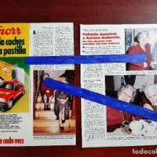 Coleccionismo de Revistas: RAFAELA APARICIO Y AURORA REDONDO- ENTREVISTA - 3 PAG. - LECTURAS AÑO 1988 -RECORTE . Lote 194245588