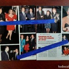 Coleccionismo de Revistas: FERIA CABALLO SEVILLA- LOLA FLORES-ROSA VALENTY-MAXIMO VALVERDE 4 PAG. - LECTURAS AÑO 1988 -RECORTE . Lote 194247281