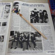 Coleccionismo de Revistas: RECORTE REVISTA LECTURAS Nº 1578 AÑO 1982 / ALASKA. Lote 194331152