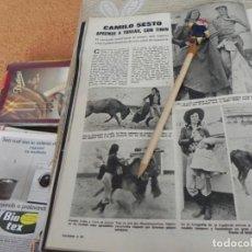 Coleccionismo de Revistas: RECORTE REVISTA LECTURAS Nº 1149 AÑO 1974 / CAMILO SESTO. Lote 194331334