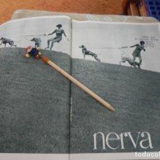 Coleccionismo de Revistas: RECORTE REVISTA LECTURAS Nº 861 AÑO 1968 / ANUNCIO PUBLICIDAD NERVA. Lote 194720332