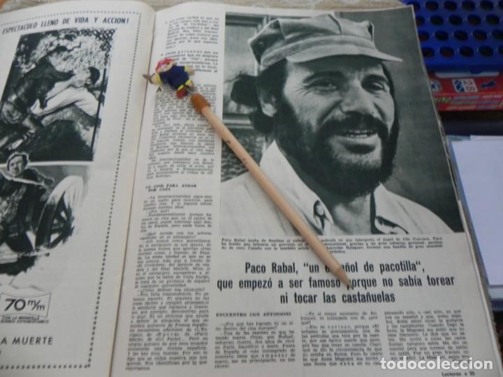 RECORTE REVISTA LECTURAS Nº 861 AÑO 1968 / PACO RABAL (Coleccionismo - Revistas y Periódicos Modernos (a partir de 1.940) - Revista Lecturas)