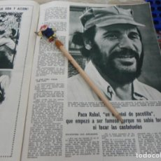 Coleccionismo de Revistas: RECORTE REVISTA LECTURAS Nº 861 AÑO 1968 / PACO RABAL. Lote 194726200