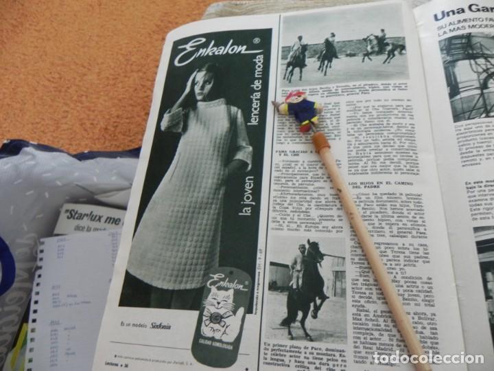 Coleccionismo de Revistas: RECORTE REVISTA LECTURAS Nº 861 AÑO 1968 / PACO RABAL - Foto 2 - 194726200