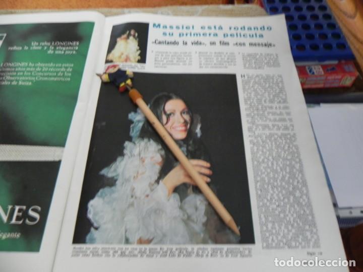 RECORTE REVISTA LECTURAS Nº 861 AÑO 1968 / MASSIEL (Coleccionismo - Revistas y Periódicos Modernos (a partir de 1.940) - Revista Lecturas)