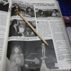 Coleccionismo de Revistas: RECORTE REVISTA LECTURAS Nº1472 AÑO 1980 / AUGUSTO ALGUERO BLANCA ESTRADA. Lote 194734658