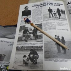 Coleccionismo de Revistas: RECORTE REVISTA LECTURAS Nº1472 AÑO 1980 / FUTBOLISTA QUINI. Lote 194734928