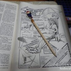 Coleccionismo de Revistas: RECORTE REVISTA LECTURAS Nº1472 AÑO 1980 / ANUNCIO PUBLICIDAD MARTINI. Lote 194734957
