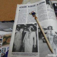 Coleccionismo de Revistas: RECORTE REVISTA LECTURAS Nº1462 AÑO 1980 / KATHERINE MCGREGOR. Lote 194735923