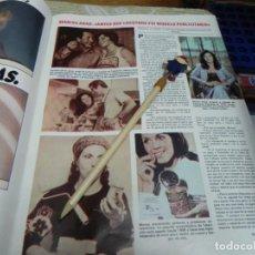 Coleccionismo de Revistas: RECORTE REVISTA LECTURAS Nº1462 AÑO 1980 / MARISA ABAD. Lote 194736047