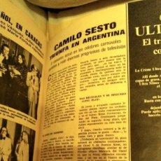 Coleccionismo de Revistas: REVISTA LECTURAS 1094 MARISOL, CAMILO SESTO, AÑO 1973. Lote 194741717