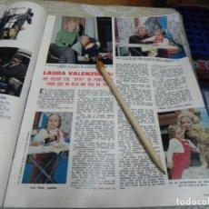 Coleccionismo de Revistas: RECORTE REVISTA LECTURAS Nº1149 AÑO 1974 / LAURA VALENZUELA. Lote 194777383