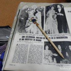 Coleccionismo de Revistas: RECORTE REVISTA LECTURAS Nº1149 AÑO 1974 / GINA LOLLOBRIGIDA. Lote 194777615