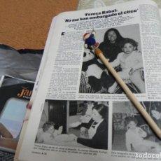Coleccionismo de Revistas: RECORTE REVISTA LECTURAS Nº1610 AÑO 1983 / TERESA RABAL. Lote 194785861