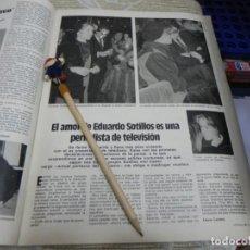 Coleccionismo de Revistas: RECORTE REVISTA LECTURAS Nº1610 AÑO 1983 / EDUARDO SOTILLOS. Lote 194786107
