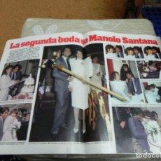 Coleccionismo de Revistas: RECORTE REVISTA LECTURAS Nº1610 AÑO 1983 / MANOLO SANTANA. Lote 194786331