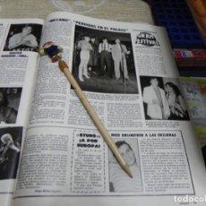 Collectionnisme de Magazines: RECORTE REVISTA LECTURAS Nº1566 AÑO 1982 / GRAN FESTIVAL MECANO. Lote 194827945