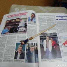 Collectionnisme de Magazines: RECORTE REVISTA LECTURAS Nº1555 AÑO 1982 / ROCK HUDSON. Lote 194898860
