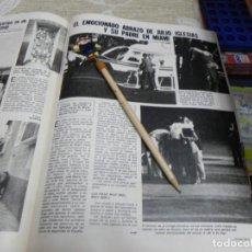 Coleccionismo de Revistas: RECORTE REVISTA LECTURAS Nº1555 AÑO 1982 / JULIO IGLESIAS DOCTOR IGLESIAS. Lote 194899093