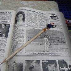 Coleccionismo de Revistas: RECORTE REVISTA LECTURAS Nº1555 AÑO 1982 / GRAN FESTIVAL RAMON RIVA. Lote 194899150