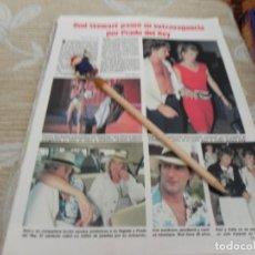Coleccionismo de Revistas: RECORTE REVISTA LECTURAS Nº1678 AÑO 1984 / ROD STEWART. Lote 195030140